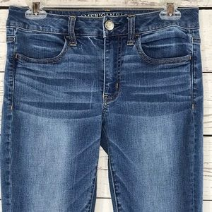 American Eagle Jeans Jeggings Low-Rise Skinny Leg